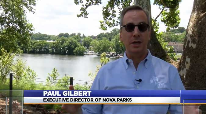 Paul Gilbert of NOVA Parks